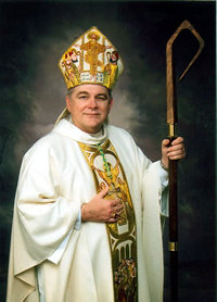 Bishop Wenski and his crozier