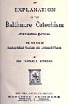 Baltimore Catechism: incarnation and redemption