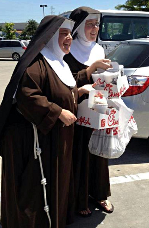 P1 Satisfied Nuns