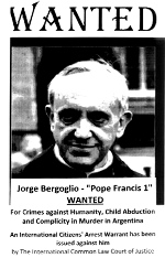 Pope Arrest Warrant