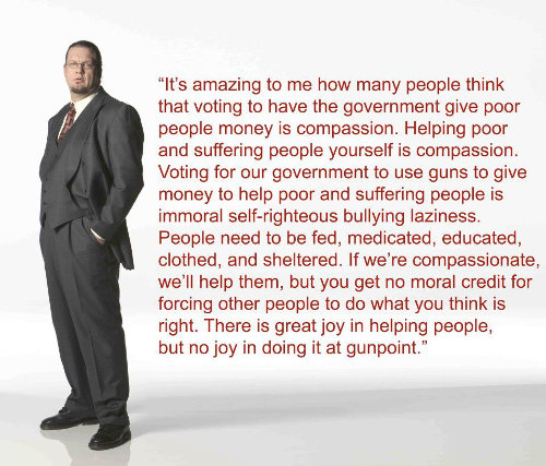 Penn Jillette On Giving And Compassion